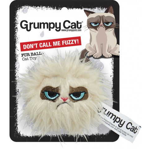Grumpy Cat Hair Ball Cat Toy - Pica's Pets