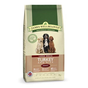 James Wellbeloved Turkey & Rice Large Breed Junior Dog Food - Pica's Pets