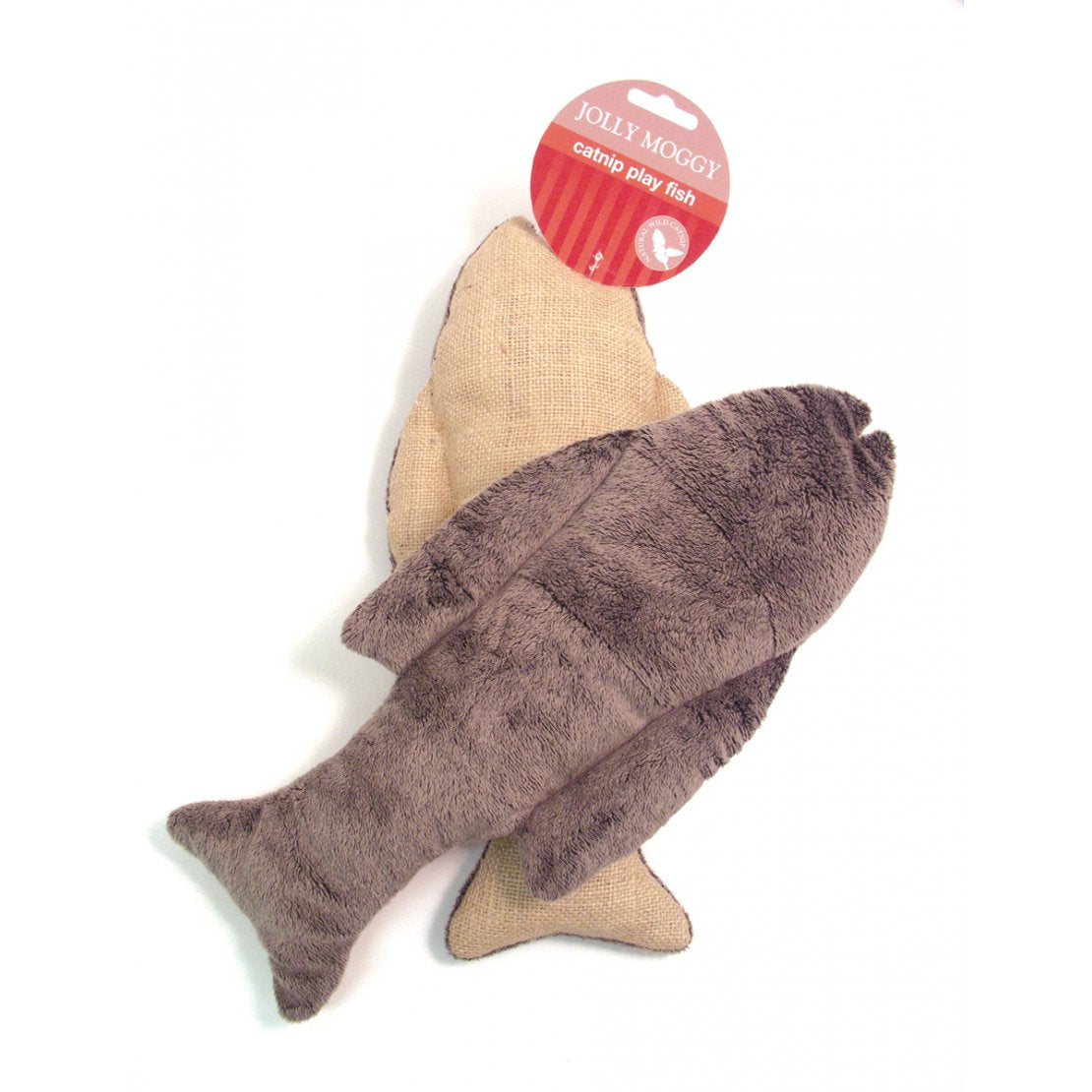Jolly Moggy Catnip Play Fish Cat Toy - Pica's Pets