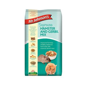 Mr Johnsons Supreme Hamster & Gerbil 900g - Pica's Pets