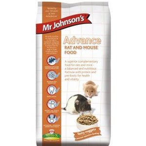 Mr Johnsons Advance Rat & Mouse 750g - Pica's Pets