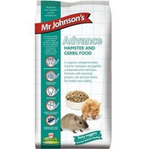 Mr Johnsons Advance Hamster & Gerbil 750g - Pica's Pets