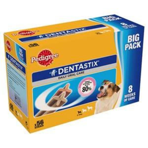 Pedigree Dentastix Small Dog 56 Stick Pack - Pica's Pets
