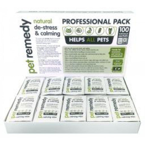 Pet Remedy Calming Wipes Sachet Professional Pack