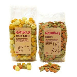 Rosewood Naturals Carrotys Small Animal Treats 200g - Pica's Pets