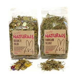 Rosewood Naturals Dandelion Delight 100g - Pica's Pets