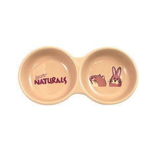 Rosewood Twin Dish Naturals - Pica's Pets