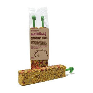 Rosewood Naturals Strawberry Sticks 120g - Pica's Pets