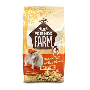 Tiny Friends Farm Reggie Rat & Mimi Mouse 850g - Pica's Pets