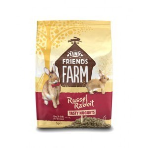 Tiny Friends Farm Russel Rabbit Tasty Nuggets 2kg - Pica's Pets