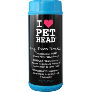 Pet Head My Paw & Body Wipes (50Pk)