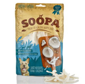 Soopa 100% Coconut Dog Treat 100g