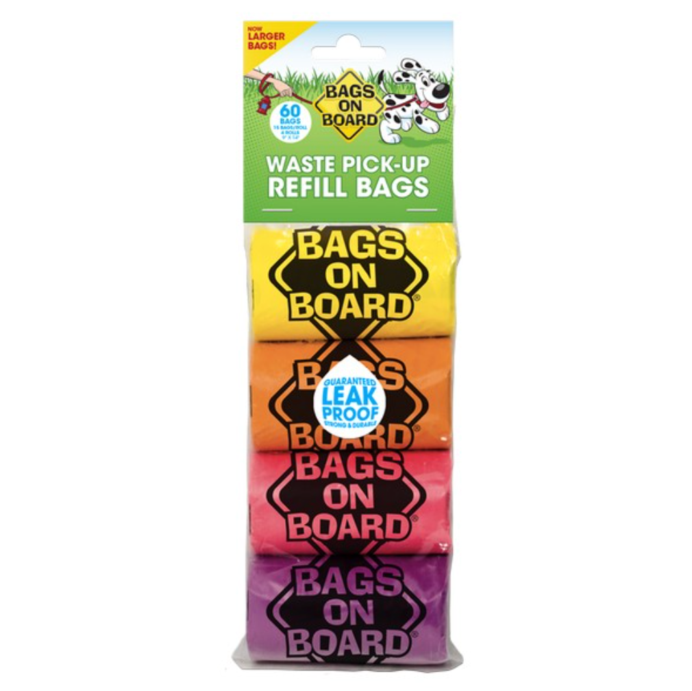 Bags On Board Rainbow Refill Bags x 60
