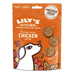 Lily's Kitchen Chomp-Away Chicken Bites Dog Bites 70g - Pica's Pets