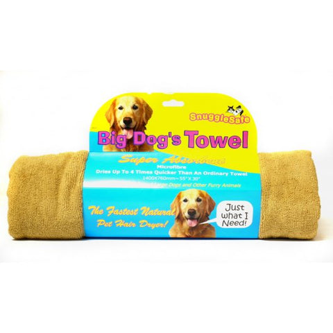 Snugglesafe Microfibre Pet Towel