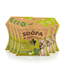 Soopa Healthy Bites Kale & Apple 50g - Pica's Pets