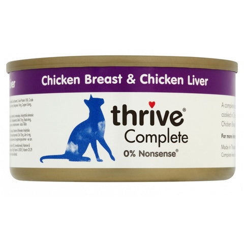 Thrive Complete Adult Chicken Breast & Chicken Liver 75g