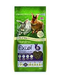 Burgess Excel Adult Light Rabbit Nuggets with Mint - Pica's Pets