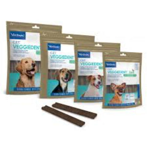 Virbac VeggieDent Dog Dental Chew