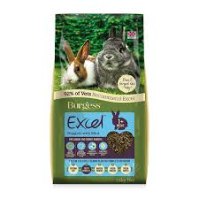 Burgess Excel Junior + Dwarf Rabbit Nuggets with mint - Pica's Pets