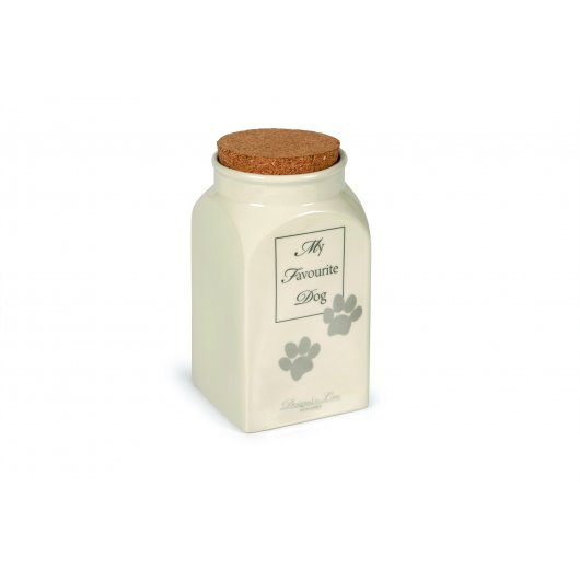Designed By Lotte Ceramic Treat Jar My Favourite Dog - Pica's Pets