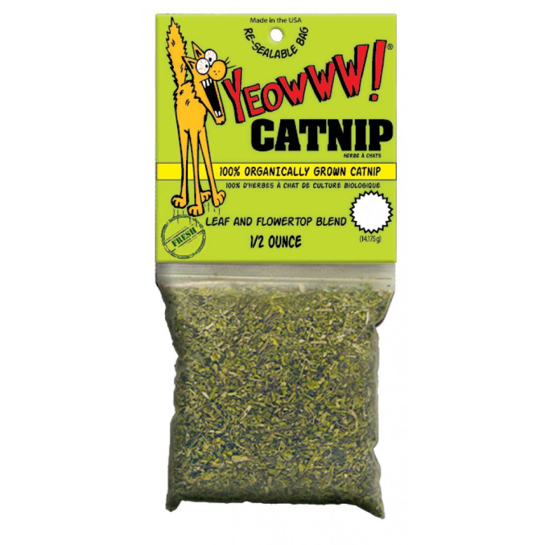Yeowww Catnip Bag - Pica's Pets