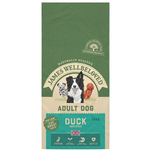 James Wellbeloved Duck & Rice Adult Dog Food