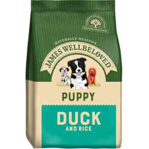 James Wellbeloved Duck & Rice Puppy Food