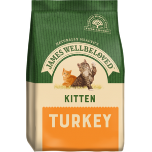 James Wellbeloved Kitten Turkey