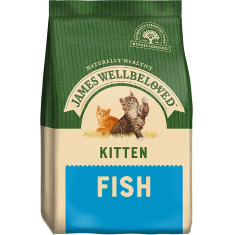 James Wellbeloved Kitten Fish
