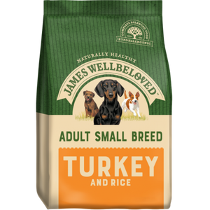 James Wellbeloved Small Breed Turkey & Rice Dog Food
