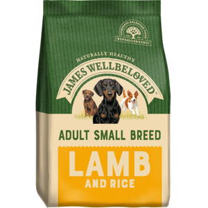 James Wellbeloved Small Breed Lamb & Rice Dog Food