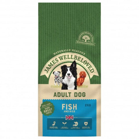 James Wellbeloved Fish & Rice Adult Dog Food