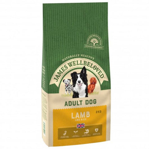 James Wellbeloved Lamb & Rice Adult Dog Food