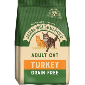 James Wellbeloved Adult Cat Turkey Grain Free