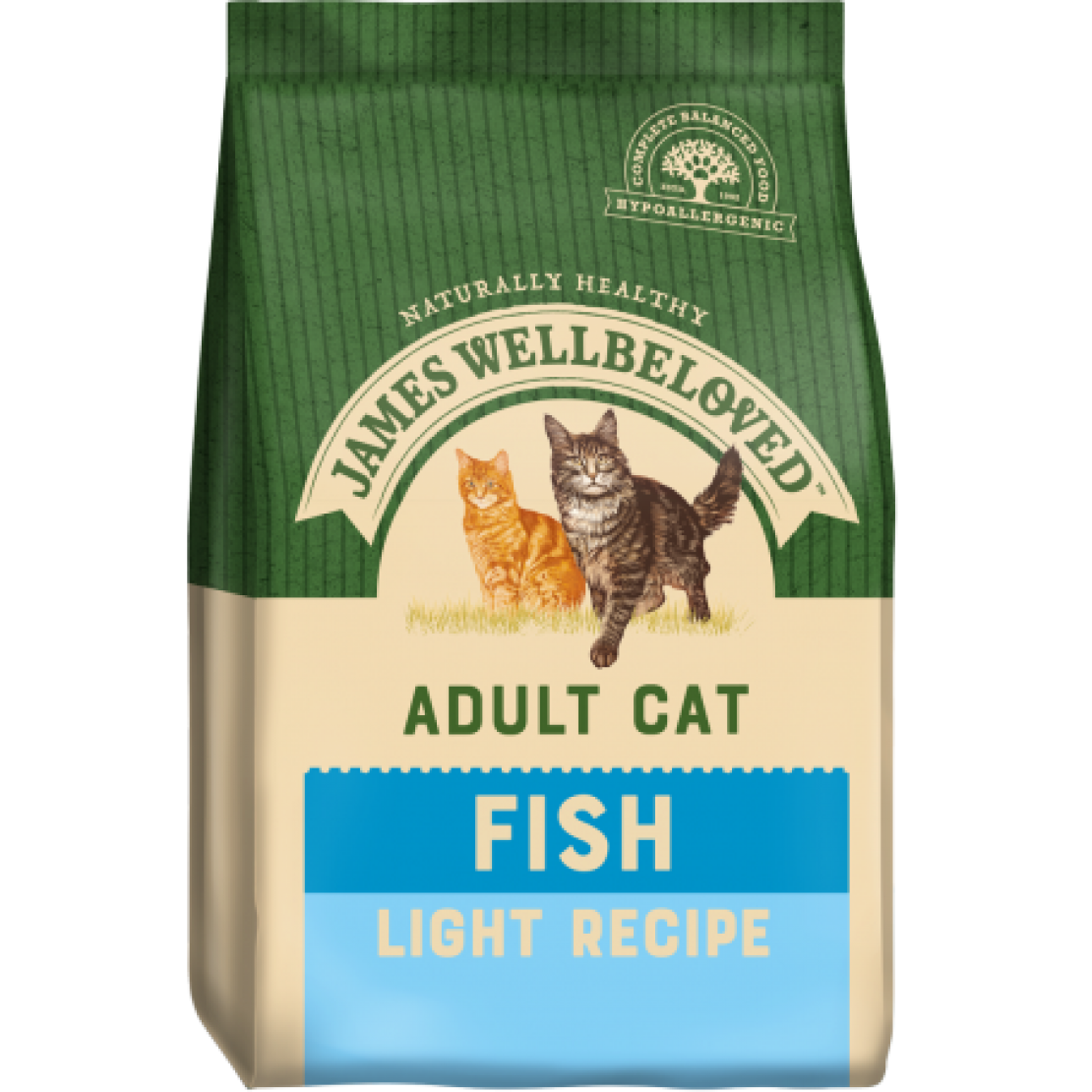 James Wellbeloved Cat Light Fish 1.5kg