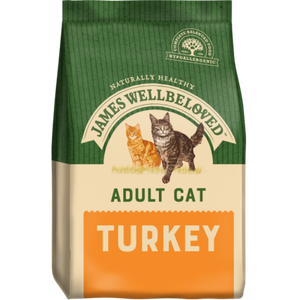James Wellbeloved Adult Cat Turkey