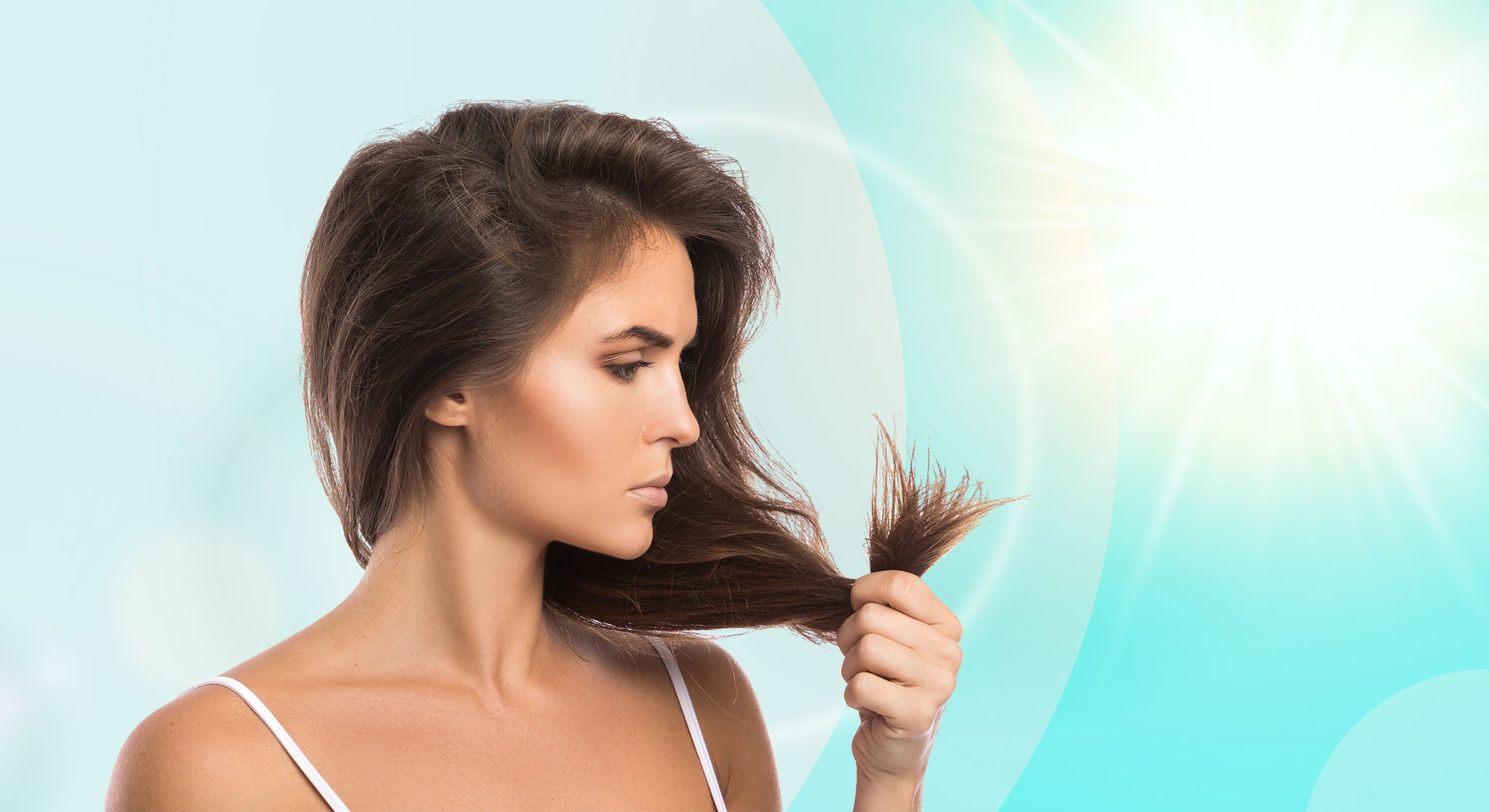 Hair Damage by Sun, Causes, Signs, Prevention, and Treatment.