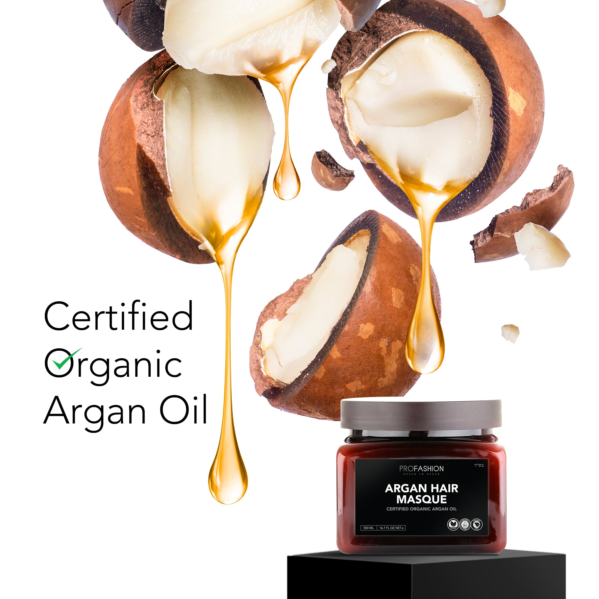 Argan Oil + Keratin Intensive Hair Mask