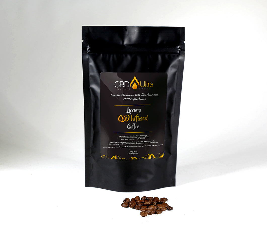 Luxury CBD Infused Coffee Beans
