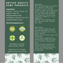CBD Oil | High Strength 5% | 500mg CBD/10ml