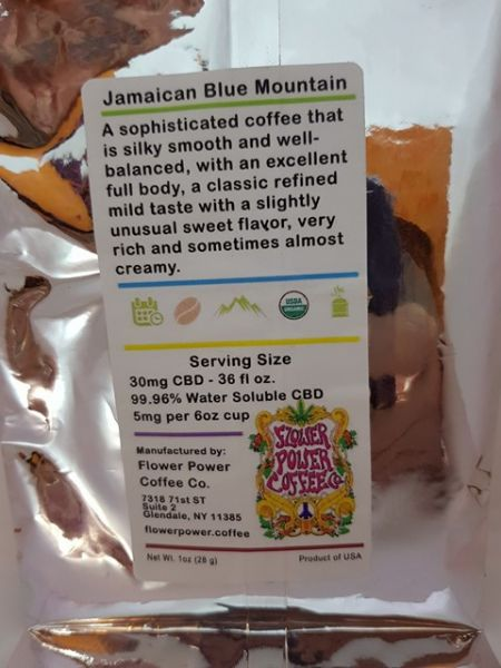 JAMAICAN BLUE MOUNTAIN CBD INFUSED COFFEE