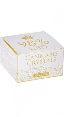 Cannabis Crystals 98% CBD (Pure CBD) 0.5g 500mg (9061227275)