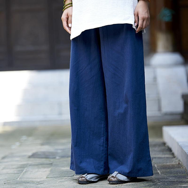 Dija Wide Leg Pants, pants muslim dress - OVEILA