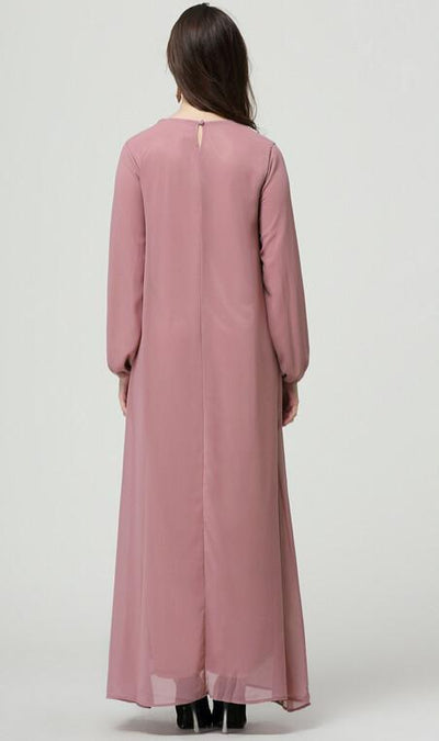 Moroccan Delight Abaya, abaya muslim dress - OVEILA