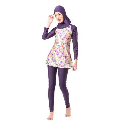 Santorini Swimsuit, swim muslim dress - OVEILA