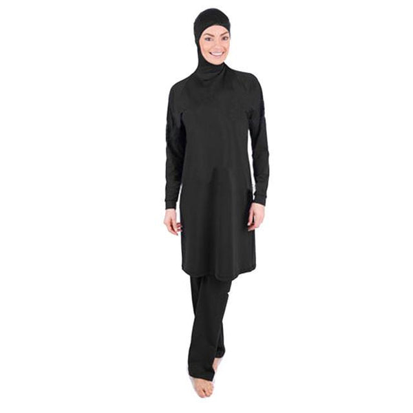 Long Bay Swimsuit, swim muslim dress - OVEILA