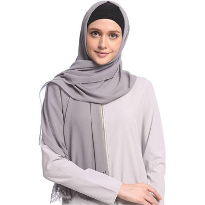 Chiffon Cut Out Hijab, Veils muslim dress - OVEILA