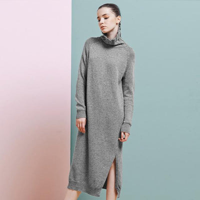 Knit Sweater Dress, cardigans and sweaters muslim dress - OVEILA