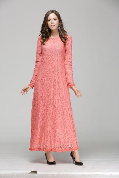 Summer Light Dress, Dress muslim dress - OVEILA